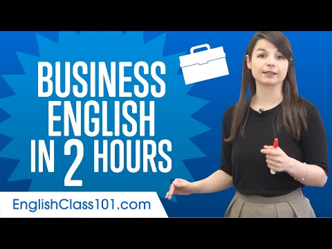 Learn English Business Language in 2 Hours