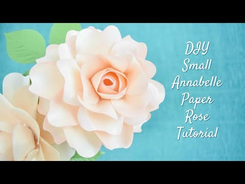 DIY Paper Rose Flower Tutorial