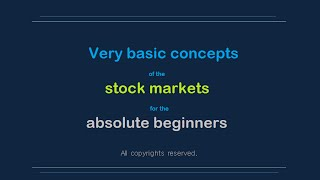 19.Very basic- stock markets explained simply.