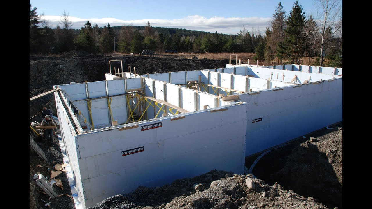 Polycrete Big Block 1600 Insulated Concrete Forms Icf