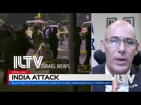 Blast outside Israeli embassy in India- Israeli Ambassador Ron Malka