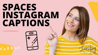 Comment Créer des Espaces dans Votre Instagram sous-titres (en 2019 mise à Jour)