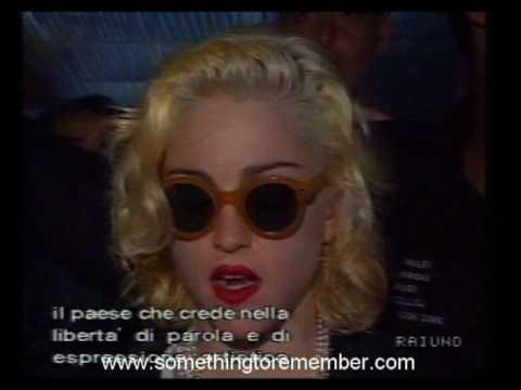 Madonna-the vatican speech-july-11-1990-