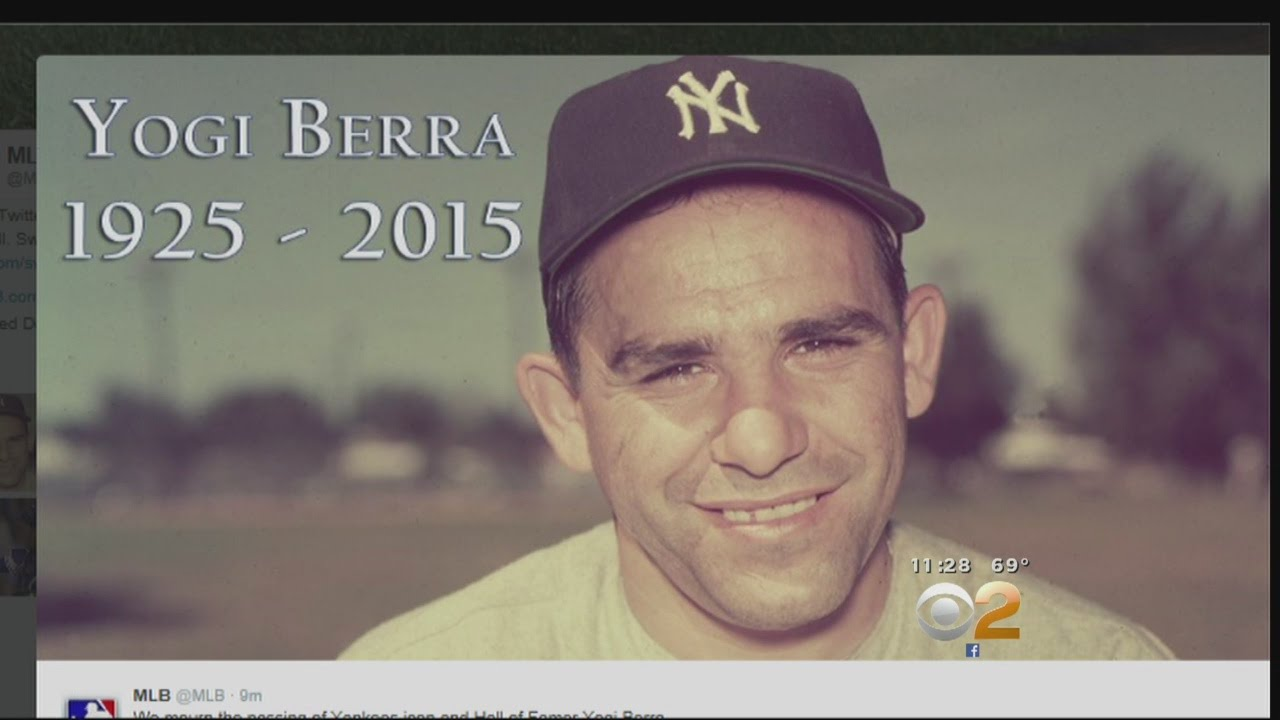 Baseball great Yogi Berra dies at 90
