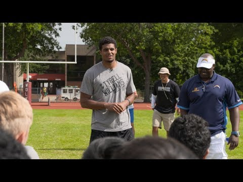 Tyrell Williams Offensive Skills Camp at WOU