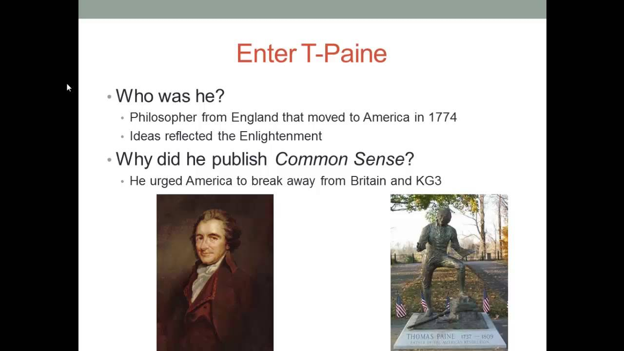 essays on common sense by thomas paine 2013-2-18  common sense by thomas paine   this is an edition of tom paine's common sense with annotation and contextual essays researched and written by  common cause.