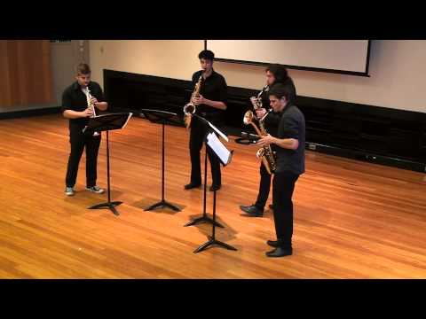 Marc Mellits - Revolution (Groove Machine) - Catalyst Saxophone Quartet