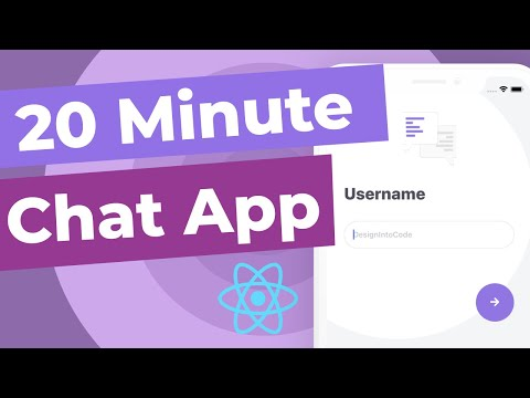 Build A React Native Chat App With Firebase In 20 MINUTES!