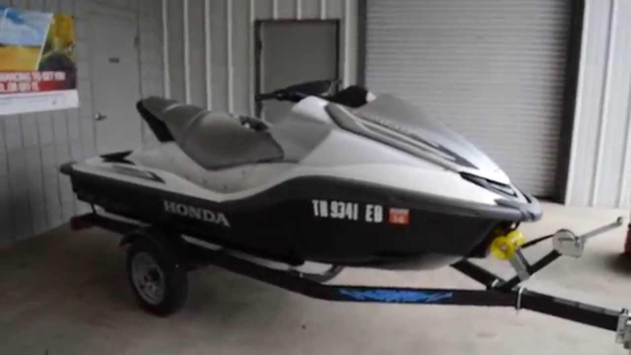 Used 2008 Honda AquaTrax F-15X Turbo PWC For Sale / Honda ...