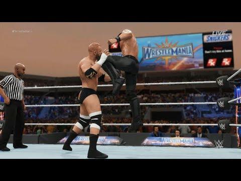 WWE 2K18 Finishers