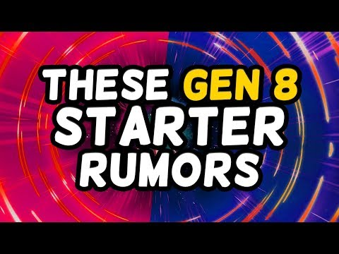 All These Gen 8 Starter Rumors...