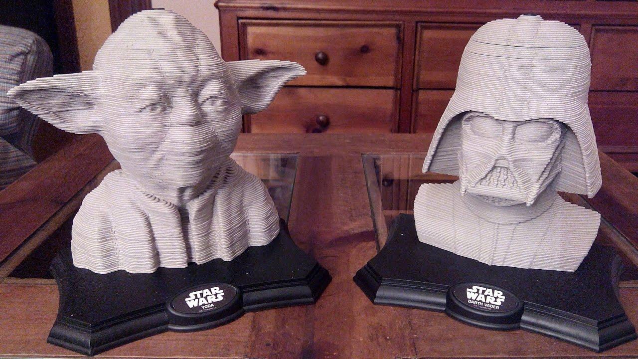 Yoda Star Wars 3d Sculpture Puzzle Time Lapse