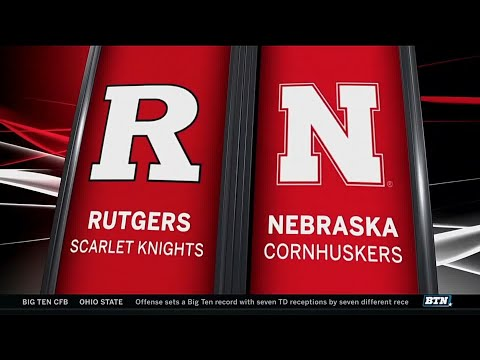 Rutgers at Nebraska - Football Highlights