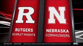Rutgers at Nebraska - Football Highlights