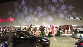 Hennessy Porsche Holiday Party