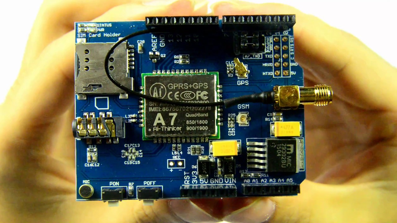 Video Demo about A6/A7 Shield