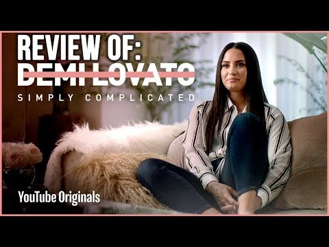 Demi Lovato Simply Complicated Documentary Review - Celebrity Mental Illness and Addiction