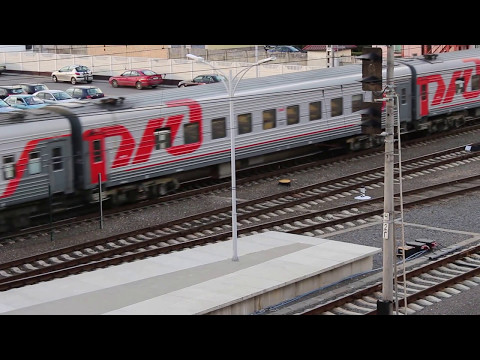 Отправление поезда Брест-Москва (РЖД)