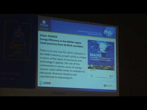 Arab Water Week Session (35) Part 2 Energy Efficiency Tools for Water Utilities
