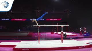Vladyslav HRYNEVYCH (UKR) - 2018 Artistic Gymnastics Europeans, junior parallel bars final