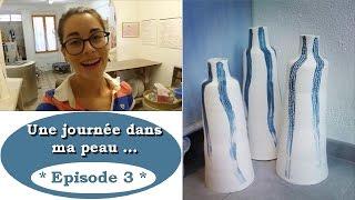"""""""Une journée dans ma peau"""" ▶ Fabrication d'un GRAND Vase ! Thumbnail"""