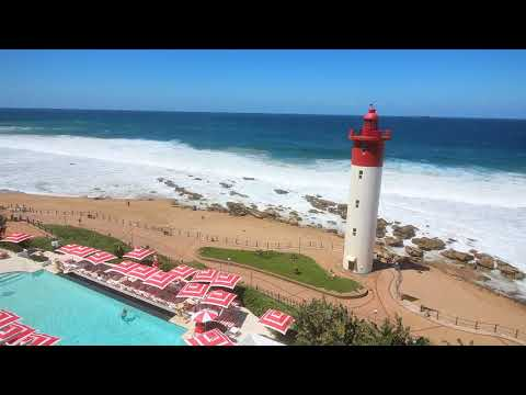 Umhlanga Rocks, Durban. View from The Oyster Box Hotel