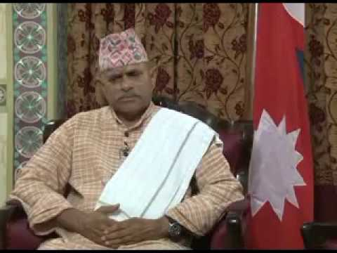 Rajesh Raj DD News Exclusive Interview with Nepalese President Dr Rambaran Yadav