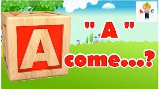 Giochiamo con le lettere dell'alfabeto   Video educativi per bambini