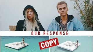 Chinese couple plagiarized my video. OUR RESPONSE