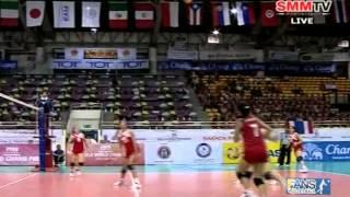 Thailand - Tunisia [Set 1] Girls' U18 World Championship 30-07-2013