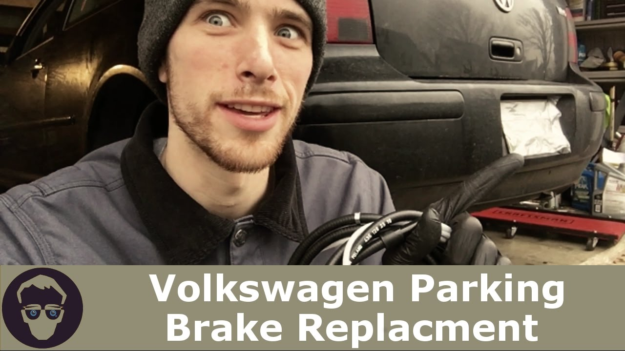 vw volkswagen parking brake diy mk4 golf gti jetta r32 [ 1280 x 720 Pixel ]