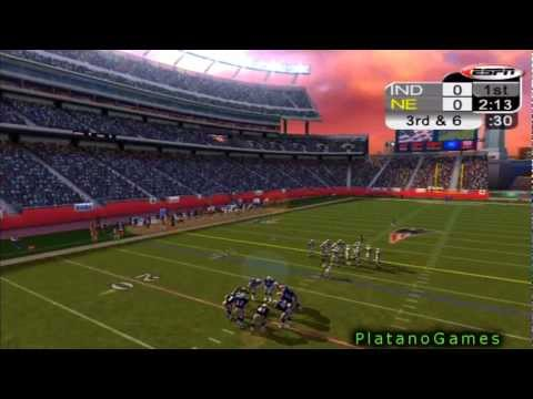 NFL 2012 Week 11 - Indianapolis Colts (6-3) vs New England Patriots (6-3) - 1st Half - NFL 2K5 - HD