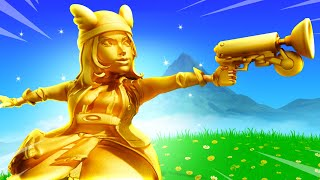 THICCEST GOLD SKYE IN FORTNITE!