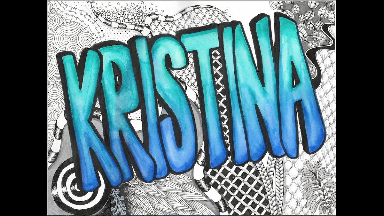 Graffiti Artistic Name Project Youtube