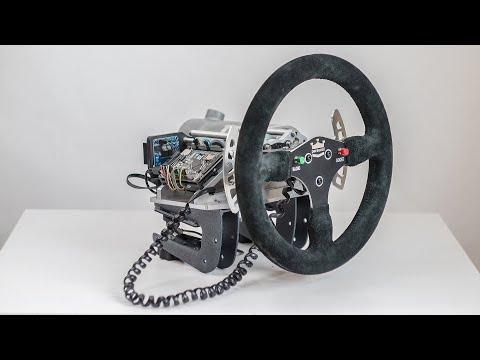 Самодельный руль для автосимуляторов - ЧАСТЬ 3 / DIY FFB Steering Wheel For PC - Part 3