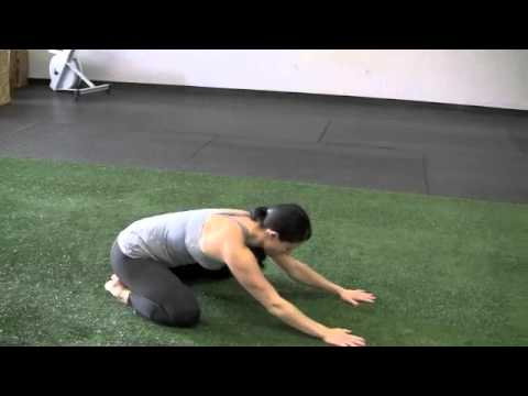 Thai Yoga Stretching Exercise, How to Stretch Lower Body for Flexibility, Childs Pose