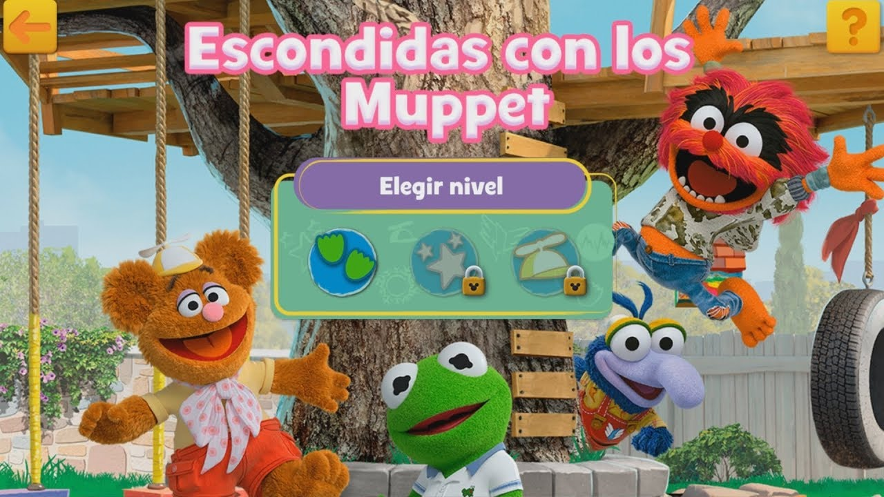 muppet babies escondidas con los muppet kermit fozzie piggy