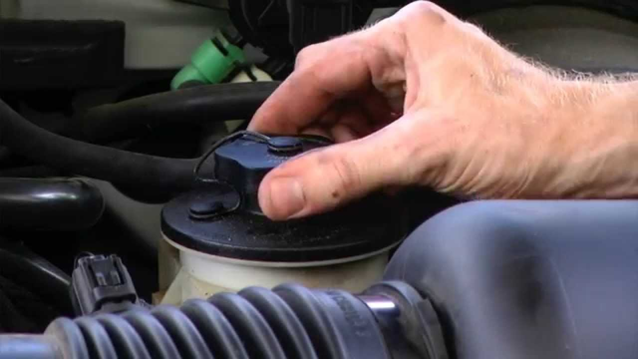 How To Check Power Steering Fluid 2001 Ford F150 Youtube