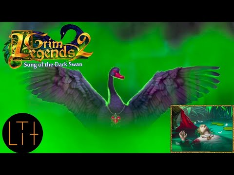 The Dark Swan! Finally, a worthy opponent in Grim Legends 2: Song of the Dark Swan |