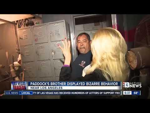 Stephen Paddock's brother had bizarre behavior in California