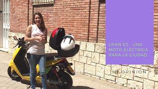 Review Lifan E3 - Una moto eléctrica para la ciudad