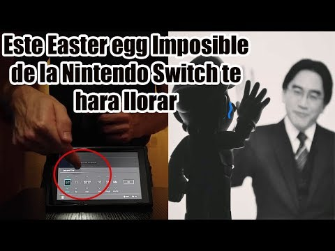 Este Easter Egg Oculto y Dificil de Desbloquear de la Nintendo Switch te hara llorar de Tristeza