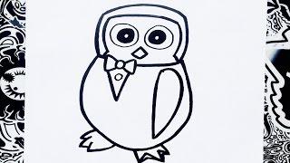 Como dibujar a penguin de five nights at candy