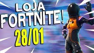 LOJA FORTNITE - LOJA DE HOJE 28/01/2019!
