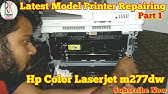 Hp Color Laserjet Pro Mfp M277dw Repair In Hindi Itb Cleaning In Hindi Part 2 Youtube