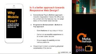 Mobile First Approach - The key to cross platform interface design