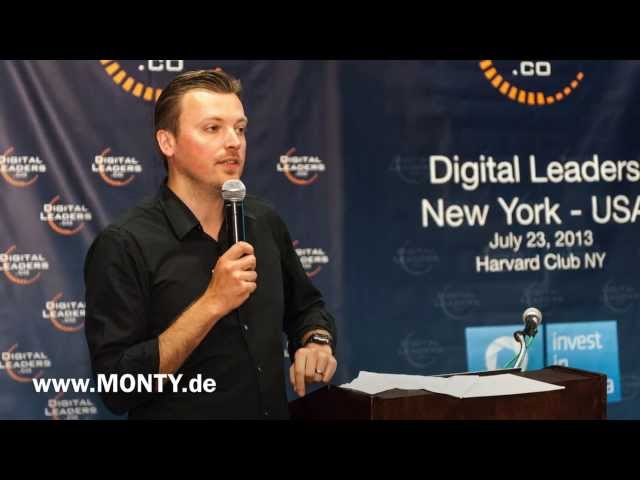 Keynote Speaker Zukunft, Redner Trends, Referent Digitale Transformation - Monty Metzger