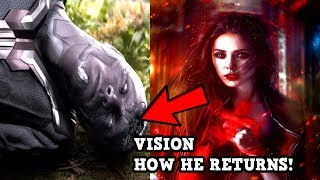 HOW VISION RETURNS IN THE MCU! WANADAVISION MARVEL PHASE 4 EXPLAINED