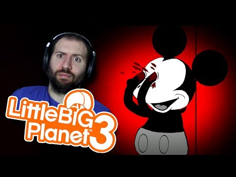 DISNEY ABANDONED AGAIN | Little Big Planet 3 (PS4) Multiplayer Gameplay