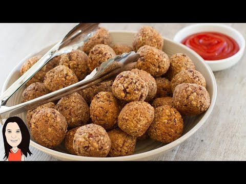 Best Ever Vegan Meatless Meatballs